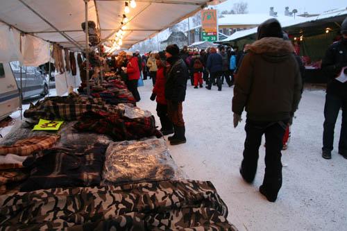 Jokkmokk har altid varit en naturlig mötesplats i Lappland.