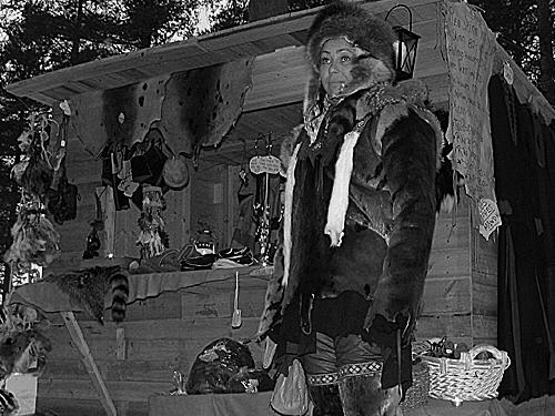 Historik vintermarknad i Jokkmokk